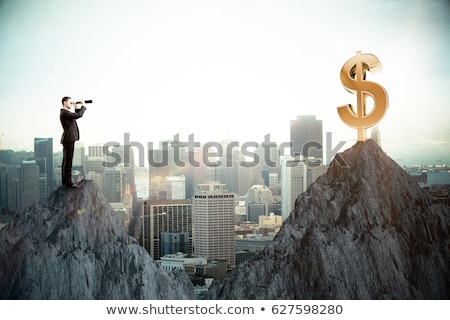 Visionary - Golden Man stock photo © AlienCat