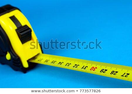 Fuori focus strumento giallo sfondo bianco Foto d'archivio © wavebreak_media