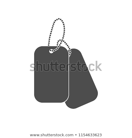 Dogtags Stock photo © Lightsource
