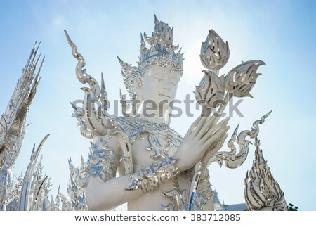 仏教 · 白 · 寺 · ダイナミック · 表示 · 建物 - ストックフォト © ruslanomega