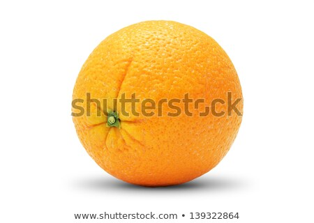 Perfect, completely retouched orange Stock photo © moses
