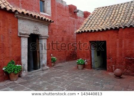 The Monastery San Sebastian Arequipa Сток-фото © njaj