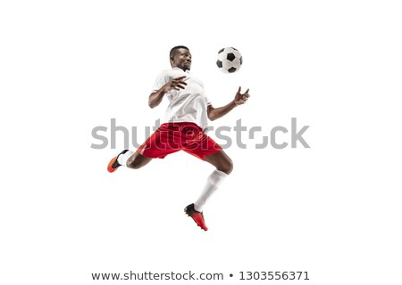 Portrait of professional soccer player Stock photo © AndreyPopov