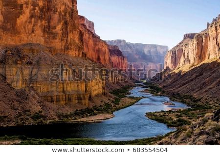 colorado river at grand canyon stock photo © emattil