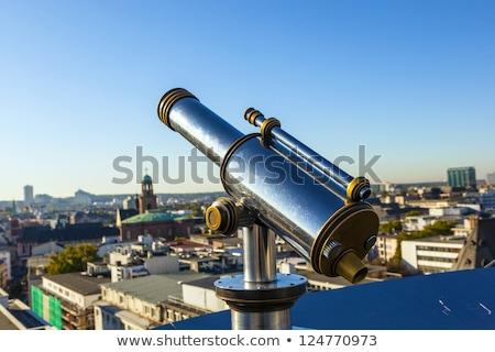 телескопом мнение Франкфурт небе воды Сток-фото © meinzahn