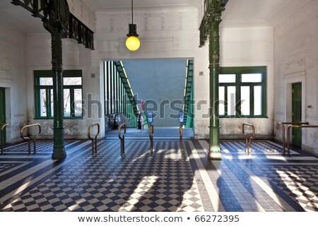 scenic subway station in vienna in art deco stock photo © meinzahn