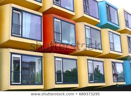 Amsterdam housing problem Stock photo © joyr
