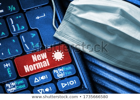 Follow on Red Keyboard Button. Stock photo © tashatuvango