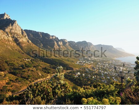 Fantastic hills,bay and mountains. Stock photo © lypnyk2