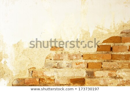Old house built in rock facade Stock photo © HASLOO