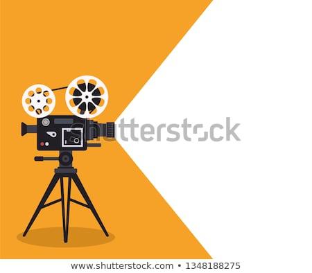 velho · câmera · quadro · retro · efeito - foto stock © romvo