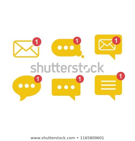 New message vector icon Stock photo © Mr_Vector
