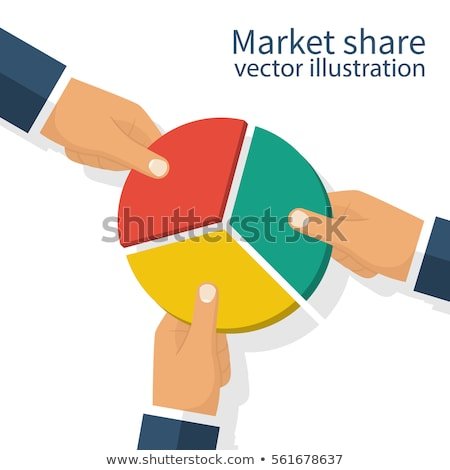 Competition Market Share Stock photo © Lightsource