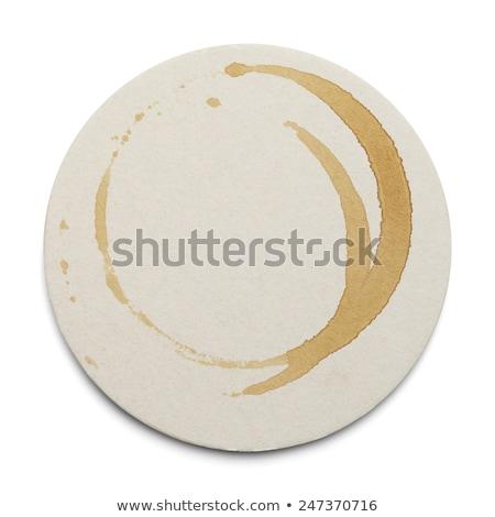 toplama · kahve · kahve · fincanı · sıçraması · yalıtılmış - stok fotoğraf © bigalbaloo
