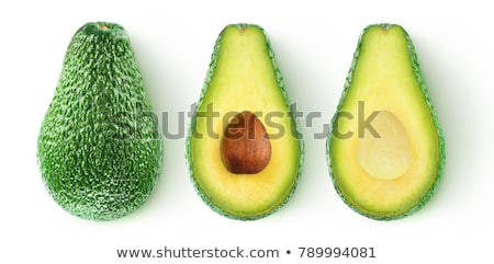 Avocado half with kernel Stock photo © digitalr