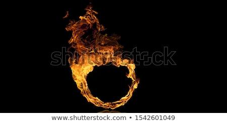 kaarsen · brandend · duisternis · zwarte · rouw · licht - stockfoto © wavebreak_media
