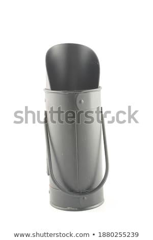 retro coal scuttle stock photo © hofmeester