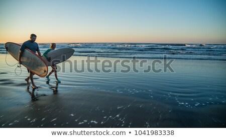 güzel · gülen · genç · kadın · genç - stok fotoğraf © wavebreak_media