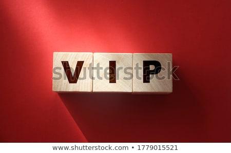 Importante pessoa vip tapete vermelho sensual segurança Foto stock © zkruger