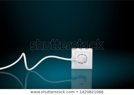 Electric plugs in interior Stock photo © IMaster