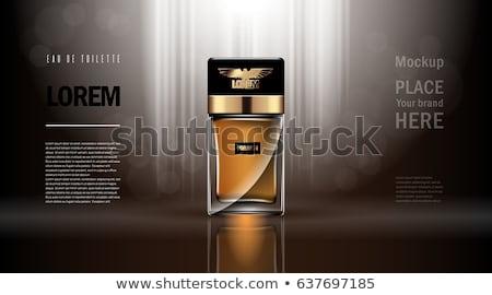 Nő parfüm gyönyörű üveg izolált fehér Stock fotó © tetkoren