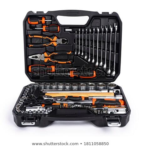 industrial toolbox kit detail Stock photo © c12