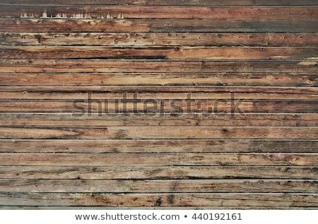 Oude houten muur donkere textuur Stockfoto © sharpner