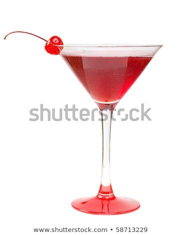 Alkollü Cerise Kokteylleri Stok fotoğraf © Fanfo