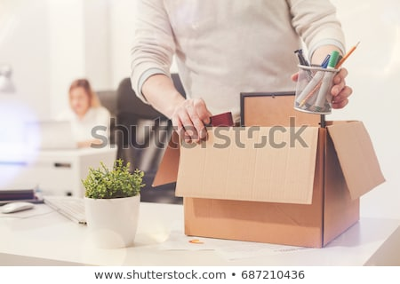 Dismissal employee Stock photo © alphaspirit