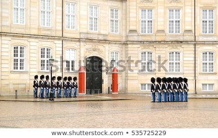 Danish Royal Life Guard in Copenhagen, Denmark Stock photo © vladacanon