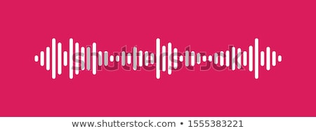 fala · dźwiękowa · korektor · niebieski · muzyki · streszczenie · czarny - zdjęcia stock © DzoniBeCool