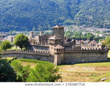 Old town of Bellinzona, canton Ticino, Switzerland Stock photo © Xantana