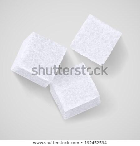 pure cane sugar cubes stock photo © digifoodstock