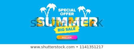 sun price stickers sale header stock photo © limbi007