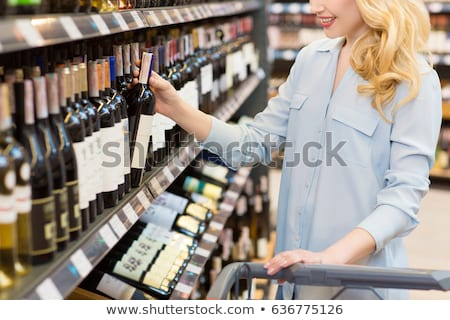 Smiling woman taking meal in the aisle Stock photo © wavebreak_media