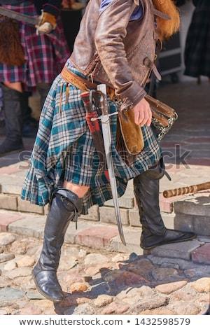 celta · festival · pormenor · mão · pessoa · masculino - foto stock © stefanoventuri