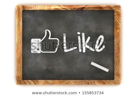 Idea Concept on Black Chalkboard. 3D Rendering. Stock photo © tashatuvango