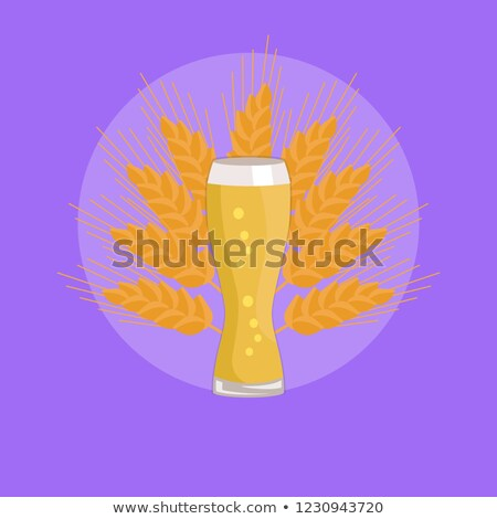 Beer Fest Snifter Glass of Drink in Glassware Stock photo © robuart