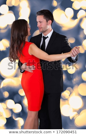 portrait of an elegant couple in the nightclub stock photo © majdansky
