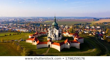 Igreja unesco barroco gótico estilo arquiteto Foto stock © hamik