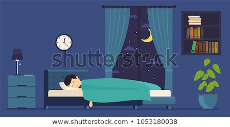 Young boy bed time Stock photo © bluering