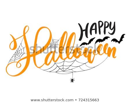 Retro Happy Halloween Designs Stock photo © solarseven