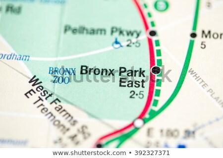 New · York · métro · carte · métro · métro · tube - photo stock © boggy