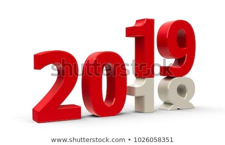 Año calendario diciembre aislado 3d reunión Foto stock © ISerg