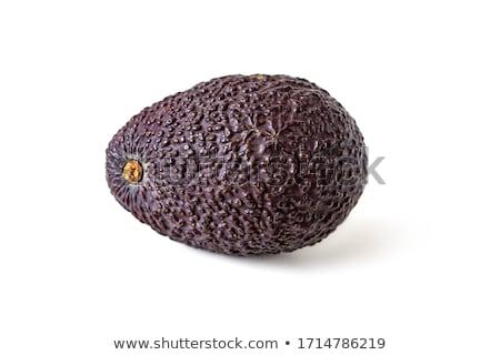 Hass avocados on the dark background Stock photo © Alex9500