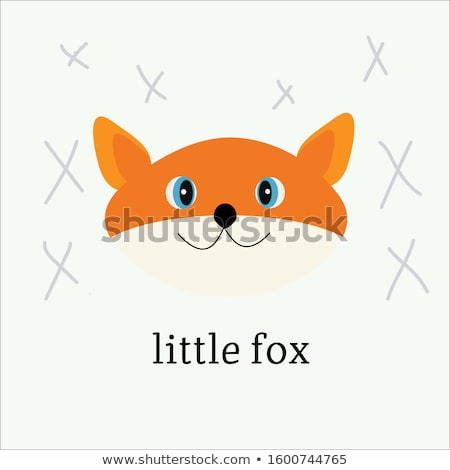Cartoon colère Fox illustration bébé Photo stock © cthoman