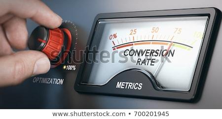 Seo Optimization Increase of Conversion Successful Stock photo © robuart