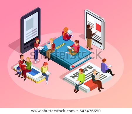 education color isometric concept stock photo © netkov1