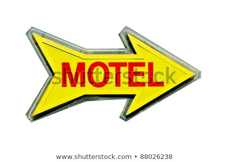 Directional Arrow Road Sign in the Room with Copy Space Stock photo © make