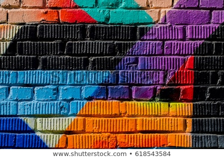 Concept background of a youth street style Stock photo © Anna_Om